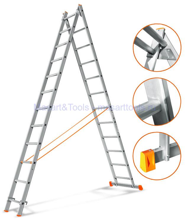 Классификация двухсекционных лестниц