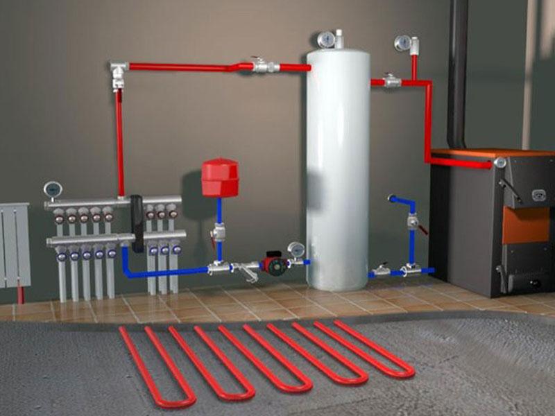 Газовые отопительные системы для дома