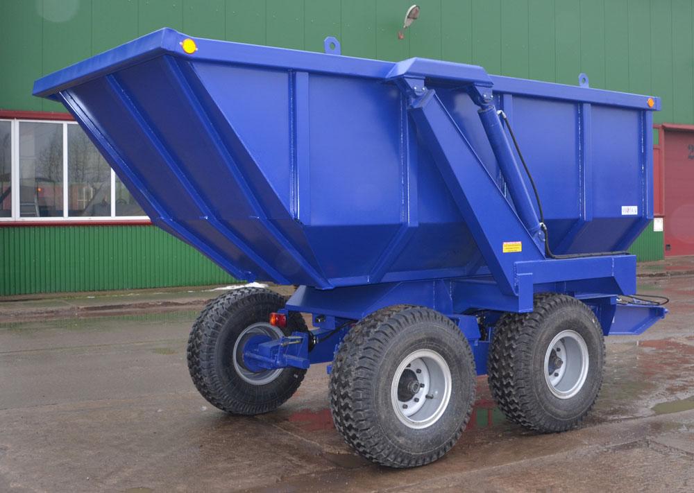 Главное предназначение тракторных прицепов